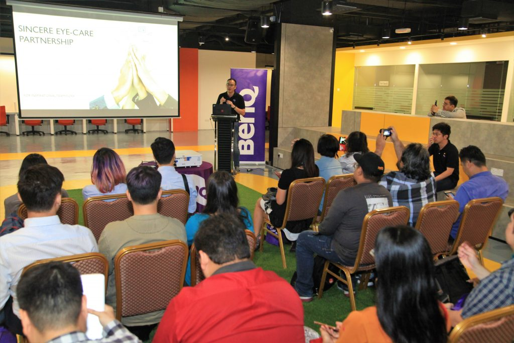 Brian Lee, General Manager of BenQ Malaysia
