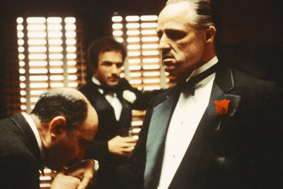 The Godfather...From left to right, Salvatore Corsitto as Bonase