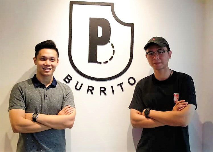 PocketBite Burrito Owners, (left) Michael, (right) Carson