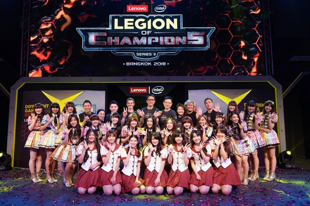 Last year's League of Champions Series II in Bangkok, Thailand