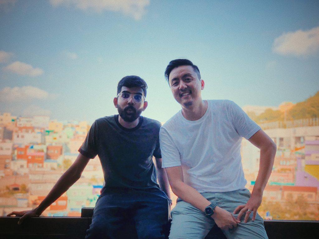 (left) Jawagar and (right) Derrik