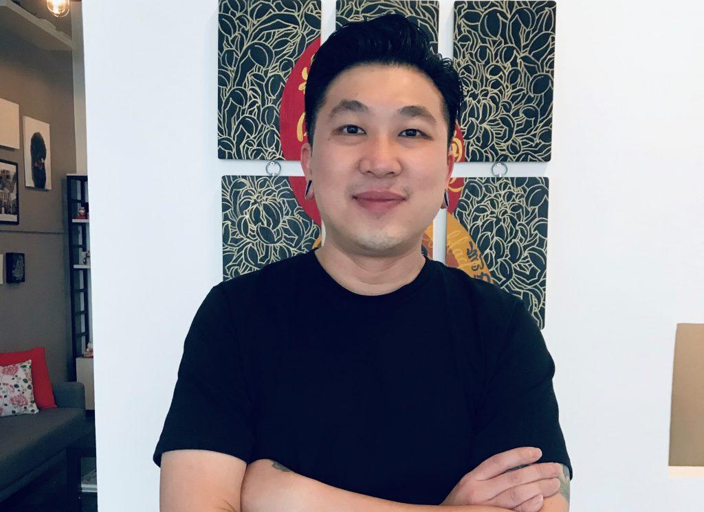 Marcus Cheaw, owner of Black Daruma