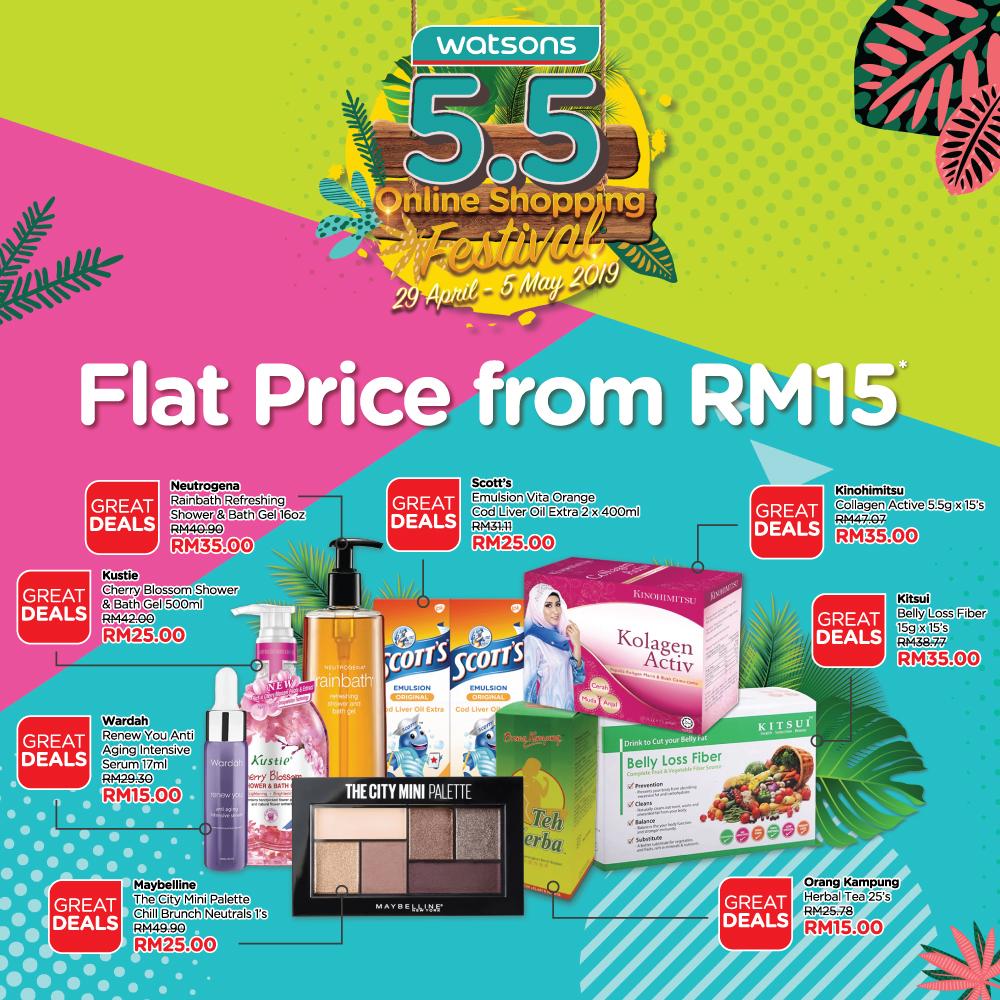 5.5 Online Shopping Festival_FlatPrice