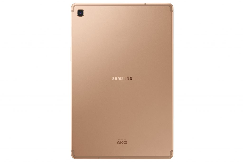 Galaxy Tab S5e_Back_Gold