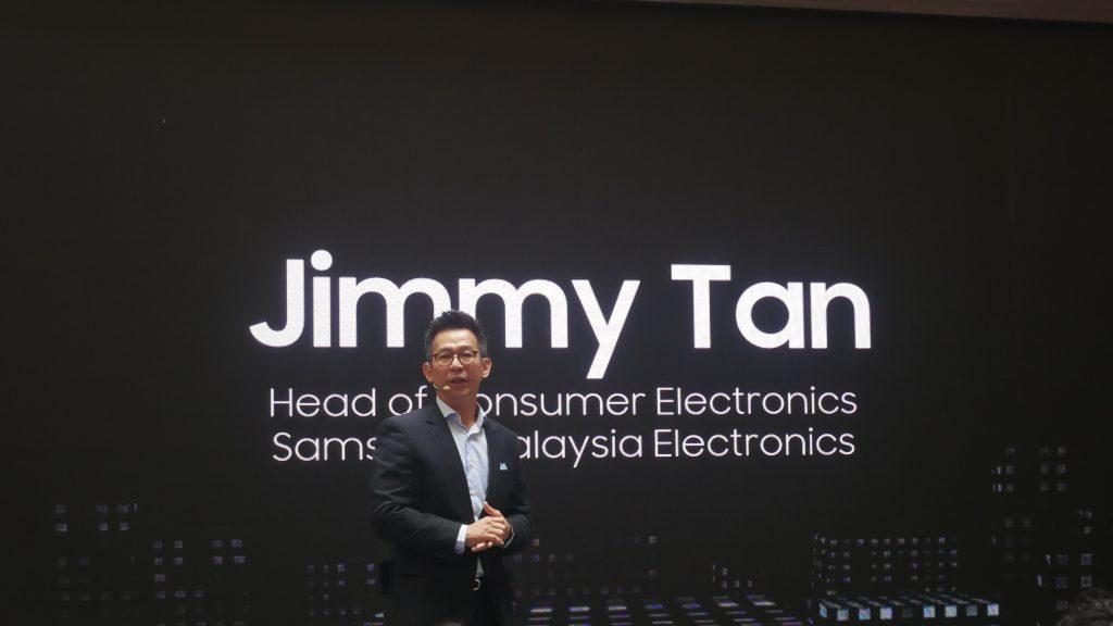 Jimmy Tan, Head of Consumer Electronics Samsung Malaysia Electronics.