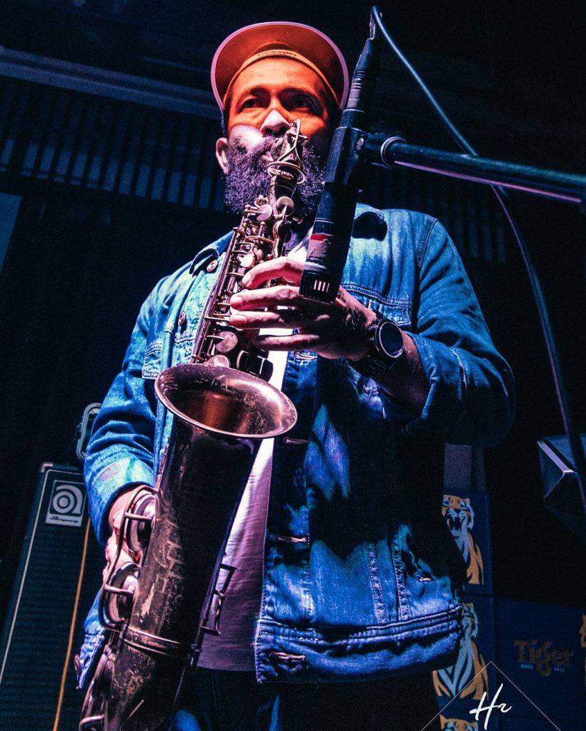 Jazmi, Tenor Saxophonist for RYOTJONES