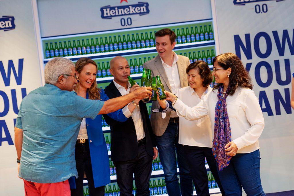 (L-R) Martin Manen - Board of Directors of Heineken Malaysia Berhad, Maud Meijboom-van Wel - Heineken® Brand Development & Communication Director, Asia Pacific, Roland Bala - Managing Director of Heineken