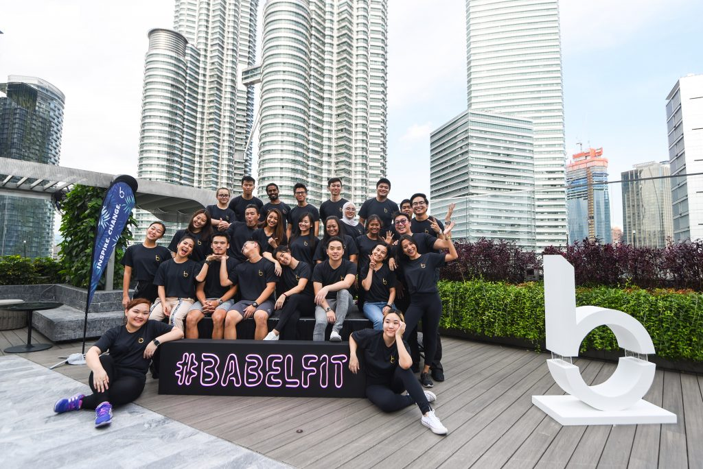 The Babel team ready to take on KLCC