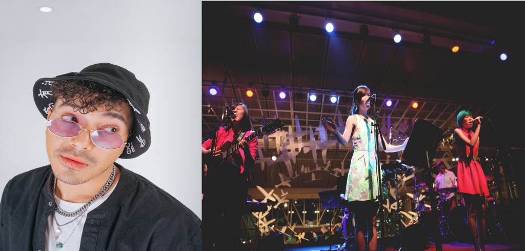 SONAONE (left) and The Impatient Sisters (right) are set to perform at this year's Good Vibes Festival 2019.