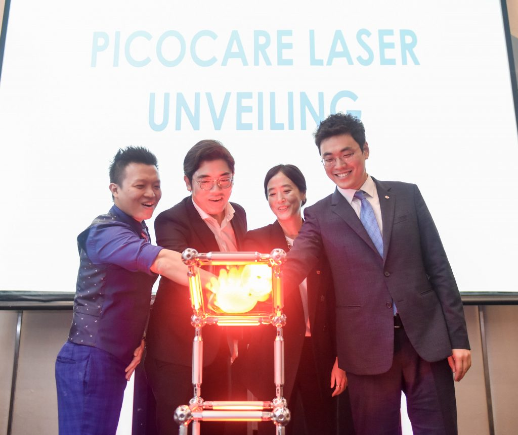 __LtoR Pico Laser Launch _ One Doc - Dr. Michael Ong, Dr. Terrence Teoh, WonTech - Ms Genie Jung, Mr Isaac Jang