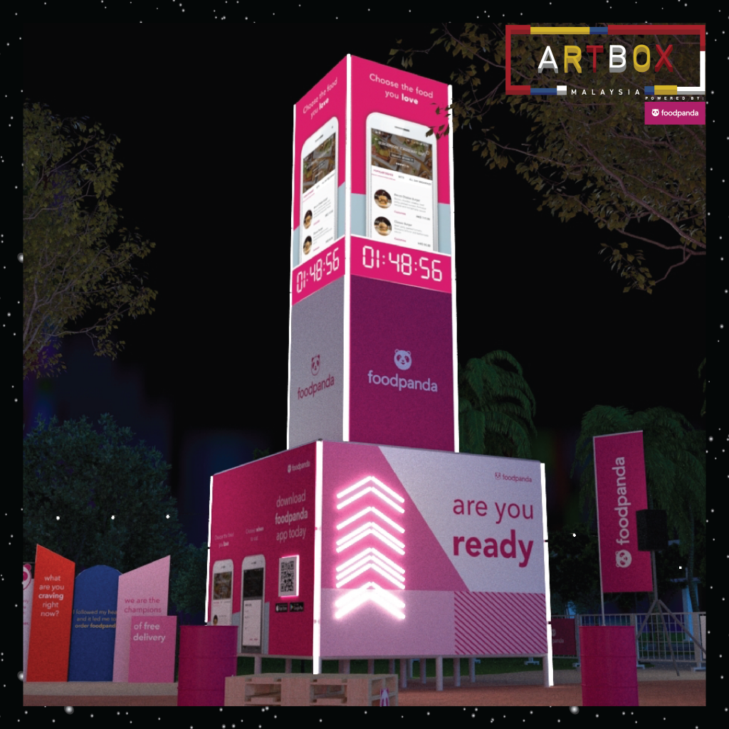Artbox MY_foodpanda food tower