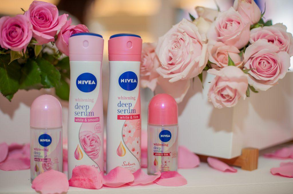 NEW NIVEA Whitening Deep Serum Deodorant Range