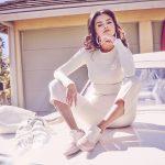 Selena sporting Puma Cali Remix 3