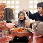 Chinese-family-eating