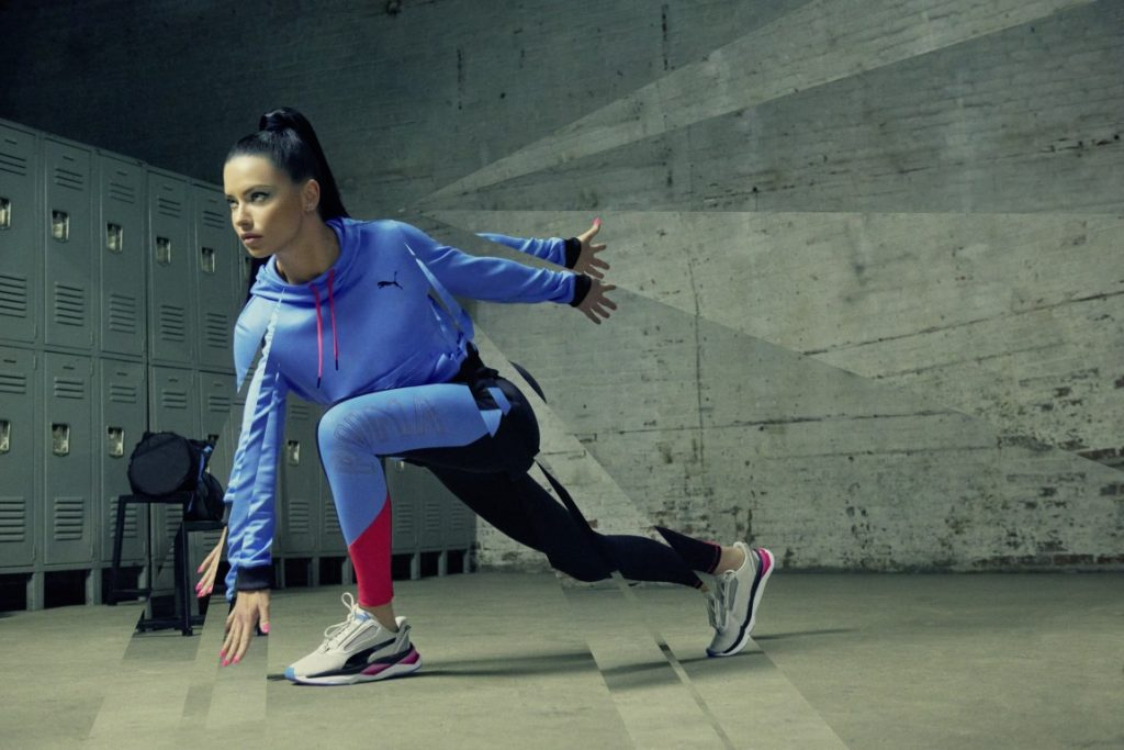 Adriana Lima rocking the PUMA Liquid Cell Shatter Xt Shift(2)