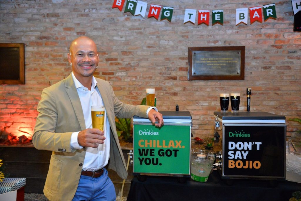 Pictured above is Roland Bala, Managing Director of HEINEKEN Malaysia
