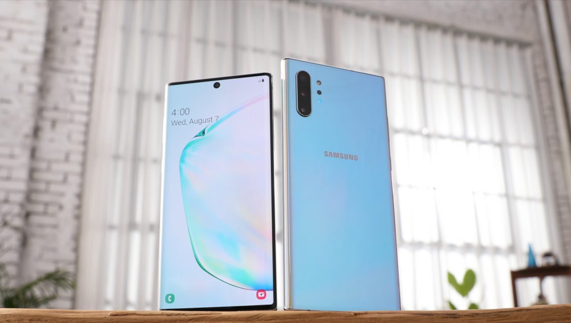 Galaxy Note10 and Note10+