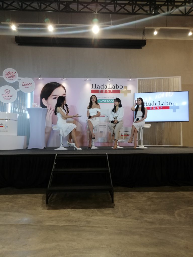 The social media influencers sharing their thoughts on why they love this new Hada Labo range products