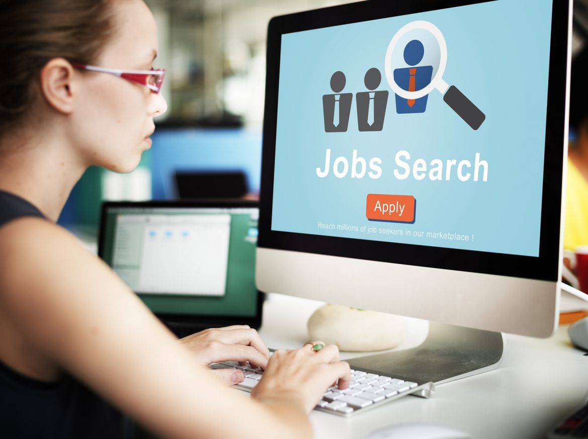 Jobs Search Applicant Career Employment Hiring Concept