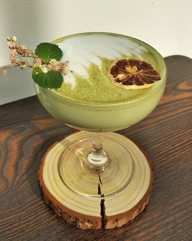 green matcha latter
