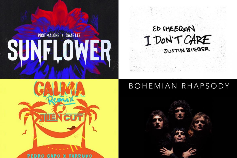 Top 10 Songs Streamed by Wazers on Spotify in 2019