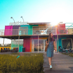 This rainbow-themed homestay in Sekinchan is perfect for weekend getaways