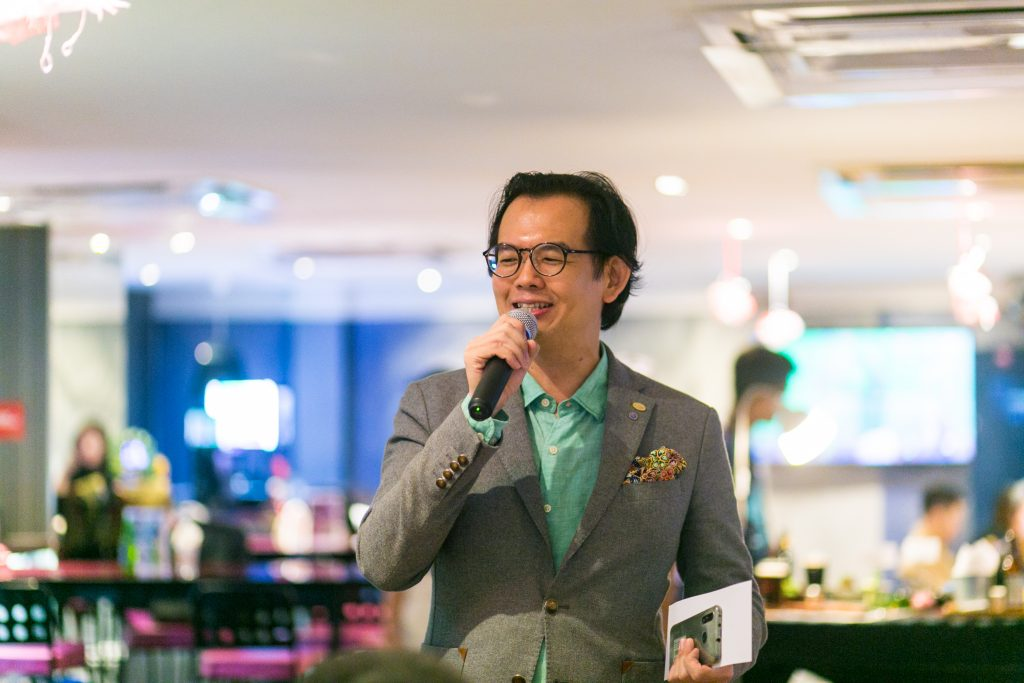 Thomas Ling, renowned Culinary and Beer expert,