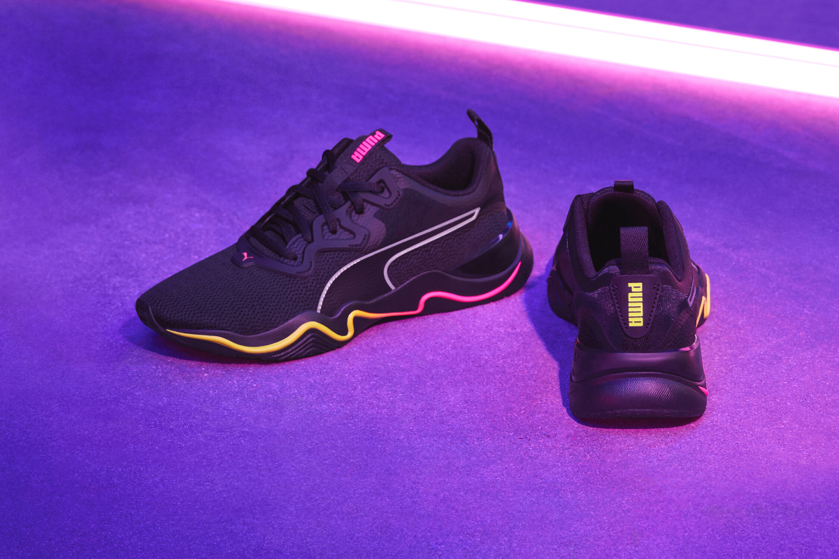 Step into the zone this new year with PUMA's brand new training shoe, Zone XT