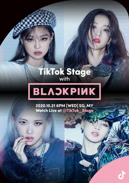 BLACKPINK Live on TikTok Stage
