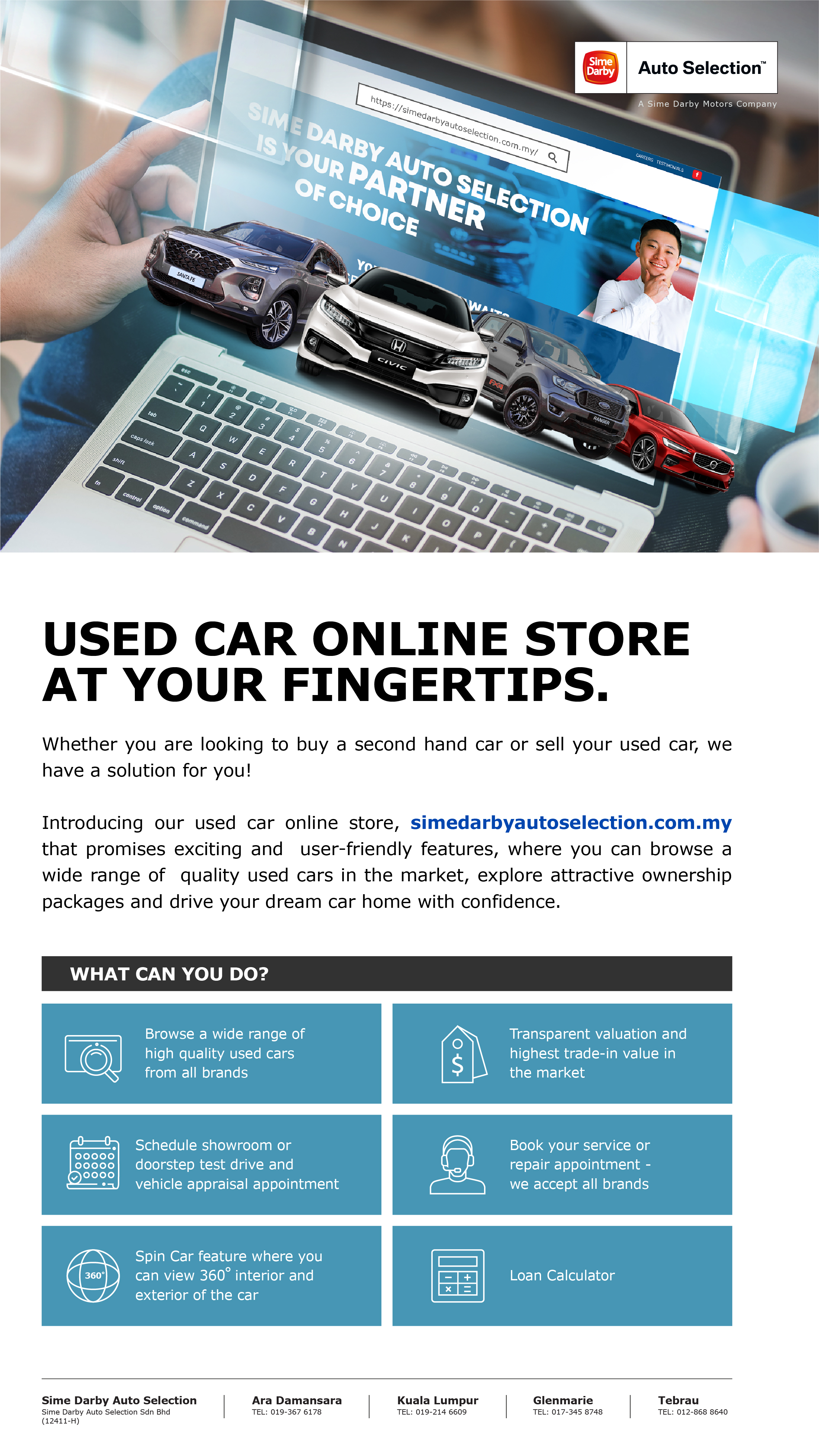 Sime Darby Auto Selection Website Launch