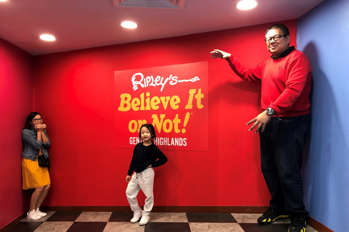 Jeremy explores the strange and unique experiences with his family at Ripley's Believe it or Not, located at Resorts World Genting.