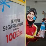 Shell mineral water girl