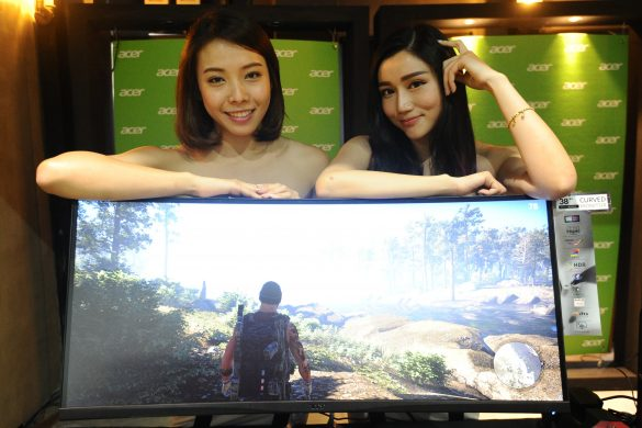 Models with the newly launched XR382CQK 37.5-inch IPS curved screen monitor