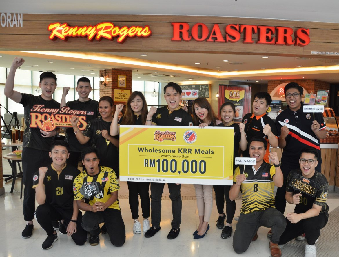 Kenny Rogers ROASTERS Prepares For The Malaysia Dodgeball ...
