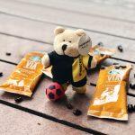 Starbucks Football Miniature Bearista Set