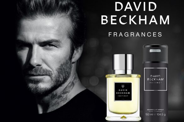 David Beckham Key Visuals - Instinct EDT & Spray