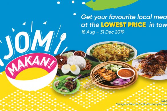 JOM MAKAN WITH TOUCH 'N GO eWALLET STARTING FROM ONLY RM0.10!